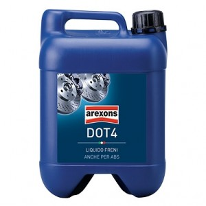 AREXONS Zavorna tekočina DOT4 4,3L