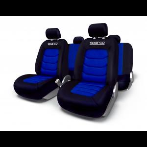 SPARCO Prevleke sedežev APEX modre