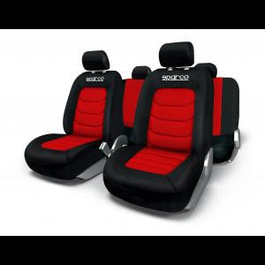 SPARCO Prevleke sedežev APEX rdeče