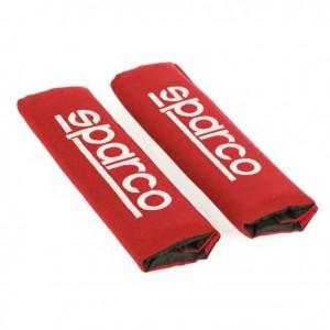 SPARCO Blazinice varnostnega pasu MODENA rdeče