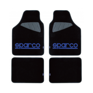 SPARCO Preproge tekstilne RACE modre