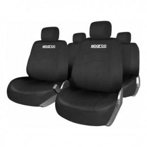 SPARCO Prevleke sedežev CLASSIC črne