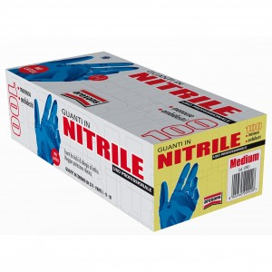 Rokavice nitrilne M