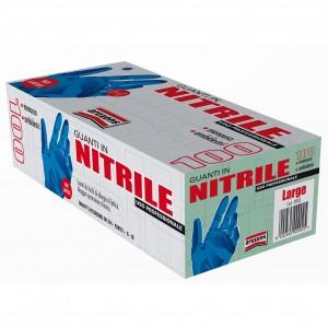 Rokavice nitrilne L