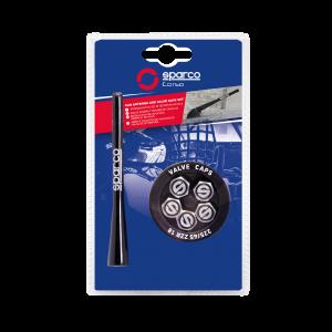 SPARCO Antena in pokrovčki ventilov
